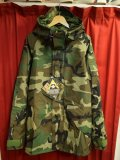 DEADSTOCK 2004年官給品 US ARMY GORE-TEX PARKER ウッドランドカモ  Size・Small / Long