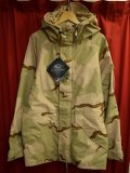 DEADSTOCK 2004年官給品 US ARMY GORE-TEX PARKER デザートカモ  Size・Small / Long
